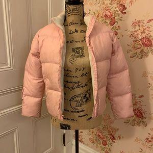 🍒 Ralph Lauren Girls Pink Puffy Jacket